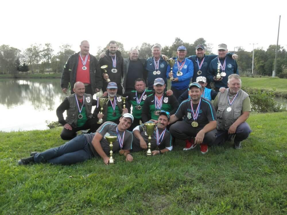 7. natjecanje za Kup-liga ZŠRDUB na jezerima u Rovišću i podjela pehara i medalja za ukupni poredak