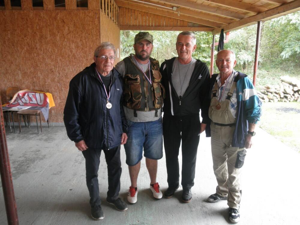 """Društveno natjecanje ribiča i članova ŠRD """"Plavnica"""" Stare Plavnice održano 9. listopada 2018."""